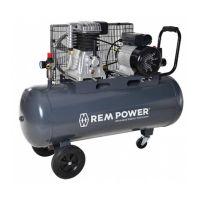 Компресор с електродвигател REM Power E 400/10/100, 10 bar, 100 л, 3.0 HP, 230 V