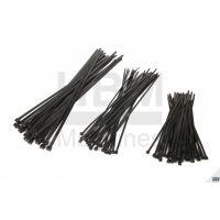 Кабелни връзки / свински опашки HBM 4,8 х 200мм. 50 бр. / черни /