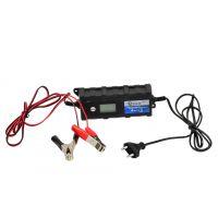 Автоматично зарядно за акумулатор GEKO G80017  - 6/12/ V 1,2-120Ah 4,0A LCD