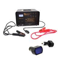 Зарядно стартерно устройство GEKO GS/CE 12/24V, 230 V, 20-400Ah, 200 А стартиране, 45 А зареждане