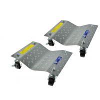 Помощна количка за преместване на автомобили GEKO (комплект от 2 бр.)