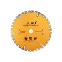 Диамантен диск с дълбоко защитно покритие Geko G00226 / 230 x 22,2 mm