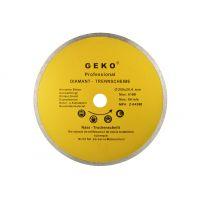 Диск диамантен за сухо рязане на гранитогрес GEKO Profi  /250x8x25.4 мм./