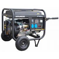 Бензинов мотогенератор HY 9000 LEК/R - 6,6 kW комплект с ATS табло за автоматично включване HYUNDAI