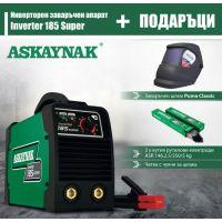 Инверторен заваръчен апарат Askaynak Inverter 185 Super / 220 V  50/60 Hz/