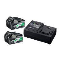 Комплект АКУМУЛАТОРНА батерия за електроинструменти Li-Ion комплект 36/18 V, 2.5/5 Ah + зарядно устройство