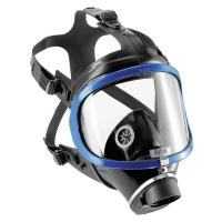 Цяла маска - Панорамна - Draeger / без филтър  / Дрегер X-Plore 6530 с поликарбонатен визьор и рамка от синтетичен материал