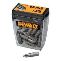 Комплект накрайници-битове  DEWALT DT71522/ PH2 - 25 ММ   25 броя /