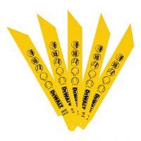Ножчета за прав трион за метал DEWALT DT2361 / 5 броя   1.8x152-125мм/