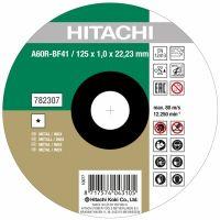 Диск карбофлексов за рязане на метал HiKOKI - Hitachi ф 125х1.0х22.2 мм
