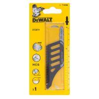 Ножчета за прободен трион-зеге за дърво HCS  DEWALT DT2074 / 1 броя   112 мм./