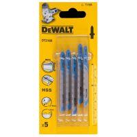 Ножчета за прободен трион-зеге за метал  DEWALT DT2160/ 5 броя 1.2x50 мм/