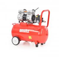 Тих безмаслен електрически компресор Hecht 2086, 1500 W, 50 л