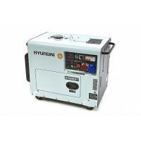 Трифазен дизелов генератор Hyundai DHY8500 SE-Т  7,0 kW , ел. старт, AVR, ATS