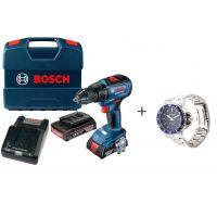 Акумулаторен безчетков винтоверт Bosch GSR 18V-50 /18V, 2.0Ah, 50 Nm/