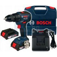 Акумулаторен безчетков винтоверт Bosch GSR 18V-50 Brushless  /18V, 2.0Ah, 50 Nm/