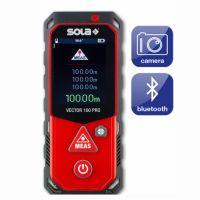 Лазерна противоударна ролетка SOLA Vector 100 Pro  с LCD дисплей / 0.02-100 м, +/-1.5 мм /