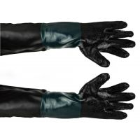 Гумени ръкавици за работа с пясъкоструйка Geko G02028