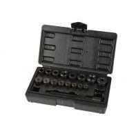 Комплект за избиване и набиване на втулки и лагери в куфар GEKO G02765 (17 части)