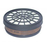 Филтър за предпазна маска ABAC за органични газове