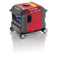 Инверторен генератор HONDA EU30is /3000W, подвижни колела, ел.стартер/