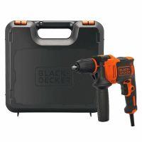 Ударна електрическа бормашина Black & Decker BEH550К / 550 W, 0-2800 rpm, 0-47 600 bpm /
