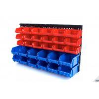 Стенен стелаж HBM 9669 с 30 кутии за съхранение