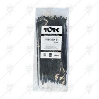 Кабелни връзки / свински опашки черни 432*4,8 TORK UV -40/+85°C 100бр.