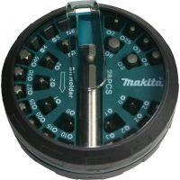 Комплект накрайници и битове Makita с магнитен държач / PH/PZ/SB/TX/SW, 28 бр./