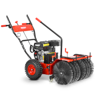 Самоходна моторна метла HECHT 8616 SE / 62 см, 6,5 к.с., 6 скорости / с електрически стартер
