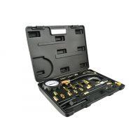 Комплект за измерване на налягането на горивото GEKO G02503 за бензинови двигатели /0-10 bar/