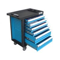 Количка с инструменти GEKO G10831 /6 чекмеджета, оборудвана с включени инструменти 245 части/