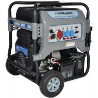 Генератор бензинов трифазен с електростартер REM Power GSEm 12500 TBE 10 kW, 230/400 V, 19.5 HP