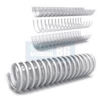"""Смукателен маркуч с PVC спирала Bulflex 007N, ф 25 мм, 1"""", 230 г/м, 7 bar 10м."""