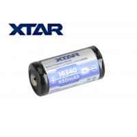 Батерия Xtar 16340  / Li-ion с вградена защита PCM