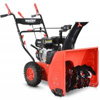 Самоходен моторен снегорин Hecht 9556 / 5.5 HP, 56 см /