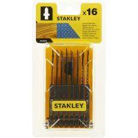 Ножчета за прободен трион-зеге за дърво и метал Stanley STA28160 / 16 бр., Т-захват /
