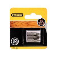 Комплект битове Stanley STA61043 / PZ 1, 2 и 3 мм, 25 мм, 3 бр. /