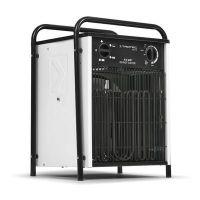 Електрически калорифер Trotec TDS 75, 5-15 kW, 400 V