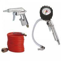 Комплект инструменти за сгъстен въздух Einhell, 3 части