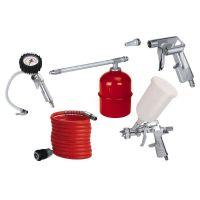 Комплект инструменти за сгъстен въздух Einhell, 5 части