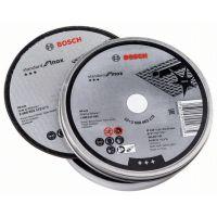 Диск за рязане, прав, Bosch Standard for Inox - Rapido 125 х 22,23 х 1 мм, 10 бр