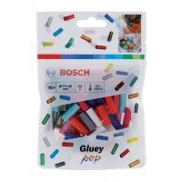 Цветни лепилни пръчки POP за Bosch Gluey /20 x 7 мм, 70 бр. в пакет/