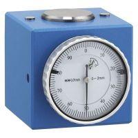 Индикаторен часовник Fervi, ф 50 мм, 0.0 - 8 мм, 0.01 мм