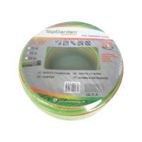"Маркуч градински трислоен TopGarden Premium 1/2"" × 2.2 mm × 25 m"