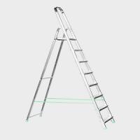 Стълба желязо/алуминий PSDS  7+1 /150 кг/