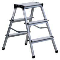 Стълба двустранна домакинска, желязо/алуминий  PSDS /2x3, 150 кг/