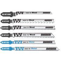 "Нож за зеге за дърво & метал ""T"" RAIDER 10 броя комплект"