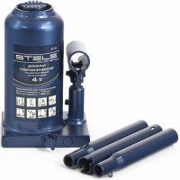 Хидравличен крик STELS, телескопичен /тип бутилка, 4 т, 170 - 430 мм/