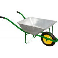 Градинска количка с плътно колело PALISAD /58 л, 120 кг/